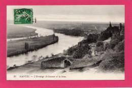 78 Yvelines Mantes L'hermitage St Sauveur Et La Seine - Mantes La Jolie