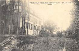 Pensionnat Des Dames De St-Maur, Château De Callenelle - Le Parc          ( 2 Scans ) - Peruwelz