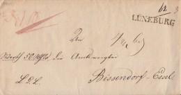 Brief Gel. Von L1 Lüneburg Nach Bissendorf-Essel - Deutschland