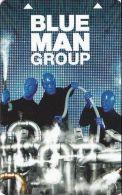 Monte Carlo Casino Blue Man Group Hotel Room Key Card - Hotel Keycards