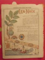 Découpage à Construire. Bateaux Tortues Avec Des Noix. 1932 - Sammlungen