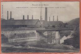Carte Postale 08. Vireux-Molhain  Laminoirs  Ancienne Maison Mineur  Trés Beau Plan - France