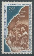 Senegal, Leopold Panet, French-Senegalese Explorer Of The Sahara, 1969, MNH VF - Senegal (1960-...)