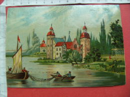 Chromo Chateau Pecheur Lac - Trade Cards