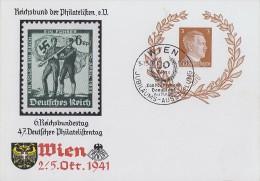 DR Ganzsache Minr. P306 SST Wien 5.10.41 - Deutschland