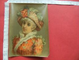 Chromo  Femme - Trade Cards