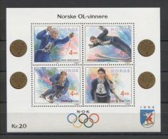 Norge Olympics Olympic JO Mi Bl#17  MNH - Hiver 1994: Lillehammer