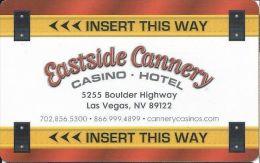 Eastside Cannery Casino Las Vegas Hotel Room Key Card - Hotel Keycards