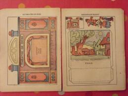 Découpage Diorama à Construire. Le Théâtre De Bébé. Guignol. 1930 - Old Paper