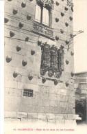 POSTAL   SALAMANCA  -ESPAÑA  -REJA DE LA CASA DE LAS CONCHAS ( GRILL HOUSE DE COQUILLES - GRILL HOUSE OF SHELLS ) - Salamanca