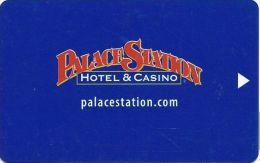 Palace Station Casino Hotel Room Key Card - Hotel Keycards