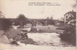 RONCHAMP  (70)  Pont Sur Le Rahin - La Haute-Saône Pittoresque