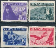 Albania 1944 Northern Region Local Issue ** MNH Liberation Resistance Partisans Anti-communist Guerilla Albanie Albanien - Albanien