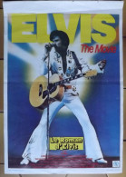 Affiche Cin�ma. ELVIS THE MOVIE. LE ROMAN D�ELVIS.  Kurt Russel as Elvis.  1979.