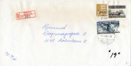 Registered Commercial Cover - 10 September 1984 Rødovre (Rødovre 3) - Long Sized - Denmark