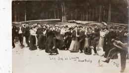 LES GAS DE L´ALLIER AU GRAND BOIS CARTE PHOTO JOUEUR DE VIEILLE M PACOURET - Non Classés