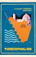 TOSCOPHIL 1980 - PRIMA MOSTRA FILATELICA REGIONALE - FIRENZE 1980 - Bourses & Salons De Collections