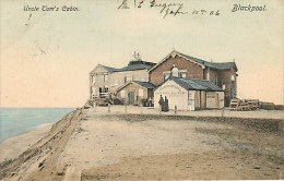 BLACKPOOL. UNCLE TOM'S CABIN. BELLA CARTOLINA VIAGGIATA 1906 - Blackpool