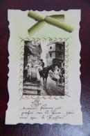 Carte Postale Avec Un Joli Ruban Doré - A Systèmes