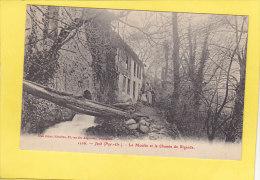 CPA - JOCH - 1226. Le Moulin Et Le Chemin De Rigarda  - éditeur Brun - France