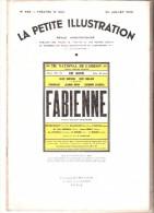 La Petite Illustration N� 928 - 22 juillet 1939 - Claude Socorri - FABIENNE
