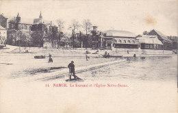Namur - Le Kursaal Et L'Eglise Notre-Dame - Namur