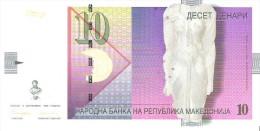 Macedonia - Pick 14a - 10 Denari 1996 - Unc - Macédoine