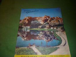 CB7-91 LC138 Catalogue 1954 Vacances Generalcar Autocar Croisières Maritimes Aviation Congo Belge - Transports
