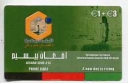 TK 5658 GERMANY - Prepaid  Afghan Wireless €1 + €3