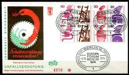 3781 - BERLIN - Heftchenblatt 17 auf Ersttagsbrief (laut Michel)