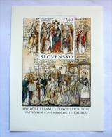 SLOVACCHIA 2013 - ANNIVERSARY SAN CIRILLO E METODIO SHEET MNH - Slovacchia