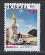 NICARAGUA AERIENS N° 1019 ** MNH Neuf Sans Charnière, TB (D1172) Monument Historique - Nicaragua