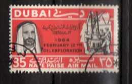 Dubai ° - 1965 - Exploration Sur Terre Du Petrole. Yvert,  PA..74.  Gommé Oblitéré.   Vedi Descrizione - Dubai