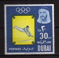 Dubai ** - 1964 - Jeux Olympiques De Tokyo. Yvert,  50  NEUF.   Vedi Descrizione - Dubai