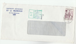 1975 BELGIUM 6.50f Stamp Day Stamps COVER UNDERPAID To GB With  5 1/2p TO PAY  LIABLE TO SECOND CLASS RATE - Covers & Documents