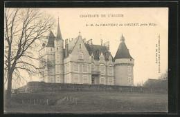 CPA Lonzat, Le Chateu Avec Le Jardin - Non Classificati