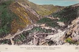 Cpa Ak Pk 2 Scans 06 / SOSPEL (alpes Maritimes) Ligne Du Tram De Menton A Sospel Viaduc Du Caramel Du Carei Et Castillon - Sospel