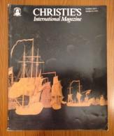 Christie's International Magazine Paintings Jewels Silver Ceramics Furniture Sculpture 1990 - Beaux-Arts