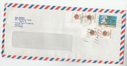 Air Mail SINGAPORE COVER Stamps TELEPHONE Anniv , SHELL ,  Telecom - Telecom