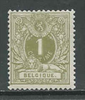Belgie, OCB 42 Liggende Leeuw, Postfris (MNH**) Cote 80,00 Euro A 20 %, Zie Scan - 1869-1888 Lying Lion