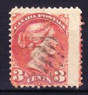 CANADA 1870-93 YT N° 28 Et 30a Obl. - Gebruikt