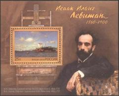 Russia, 2010, Mi. 1672 (bl. 139), Y&T 333, Sc. 7235, SG 7713, The 150th Anniv. Of I.I. Levitan, A Painter, MNH - Other