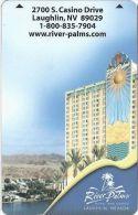 River Palms Casino Laughlin NV Hotel Room Key Card - Hotel Keycards