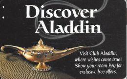 Aladdin Casino Las Vegas Hotel Room Key Card - Hotel Keycards