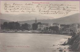66 °° Banyuls La Baie La Plage Le Village 9x14 - écrite 19-08-1903 ° T-P - Banyuls Sur Mer