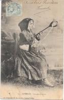AUVERGNE -  Costume De Latour - CPA DOS SIMPLE De1903 - ZZZ - - Auvergne