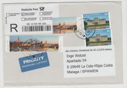 BRD402 / Elbpanorama Und Schloss Ludwigslust 2015 - BRD