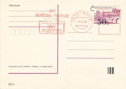 K4145 - Czechoslovakia (1982) Cesky Brod: Days Thematic Philately; 10th Meeting Of Section OLYMPSPORT; Los Angeles 1932