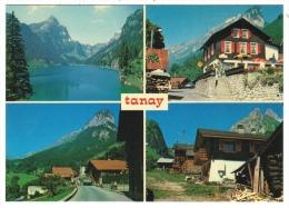 Suisse /Schweiz/Svizzera/Switzerland // Valais // Vouvry, Lac Tanay, Village Du Flon - VS Valais