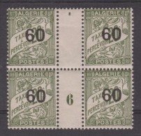 ALGERIE  MILLESIME 6  YVERT N°T 12 * MH  Réf  C85 - Algérie (1924-1962)